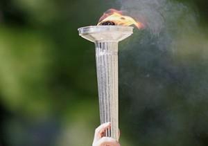 Vlam Olympische Spelen Londe