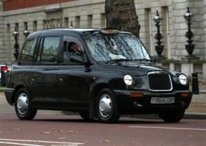 Londense Taxi-chauffeurs