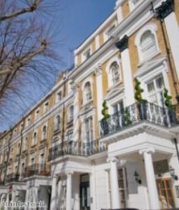 Georgische huizen Mayfair Londen