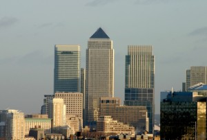 Canary Wharf in Londen