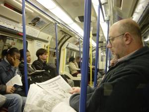 Metro Londen 2012