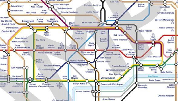 Metrostations vernoemd Olympische helden