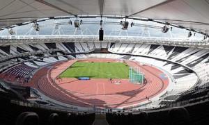 Het Olympisch stadion Londen