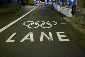 Olympische rijbaan Londen