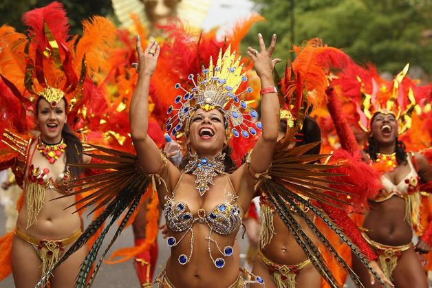 Notting hill carnival in Londen