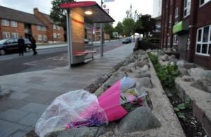 Terreurdaad moord militair Londen